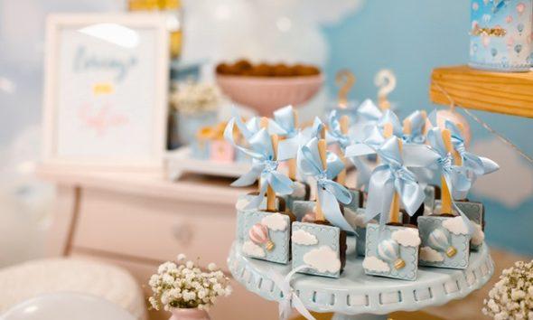 Gâteau pour la fête du bébé